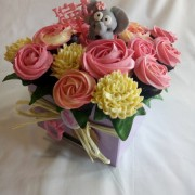 Baby Shower Pink and Cream Bouquet 5
